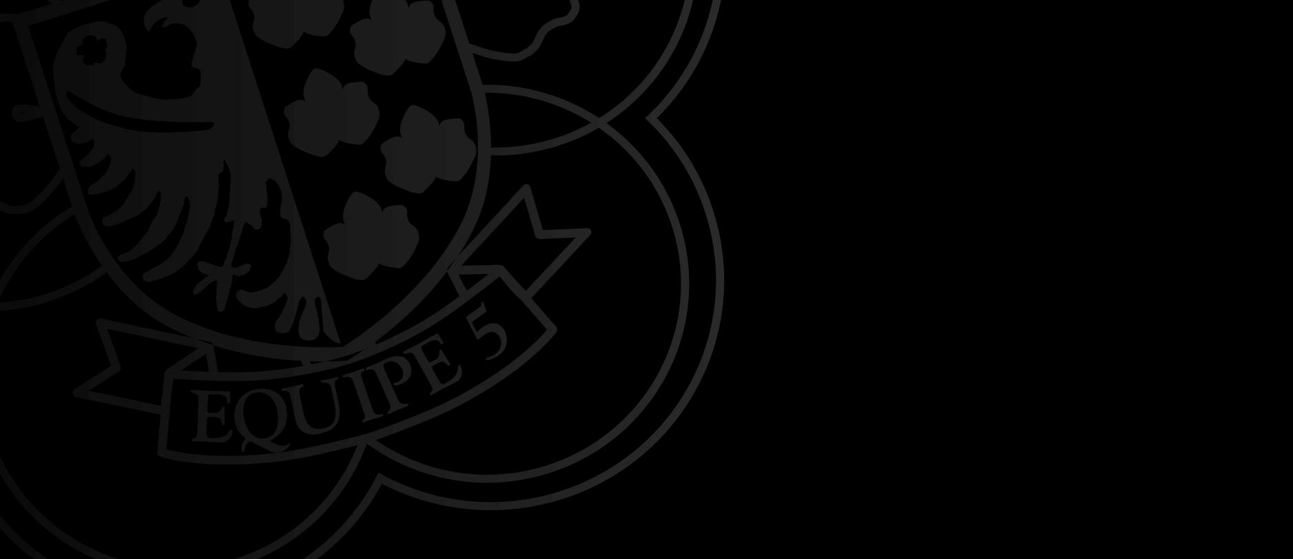 Homepage Equipe 5